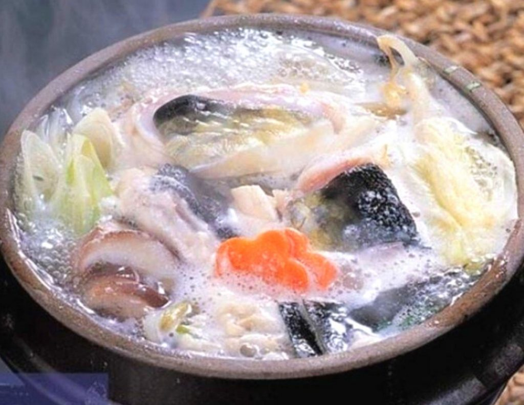 Bokjili (복지리), also known as deadly blowfish soup,