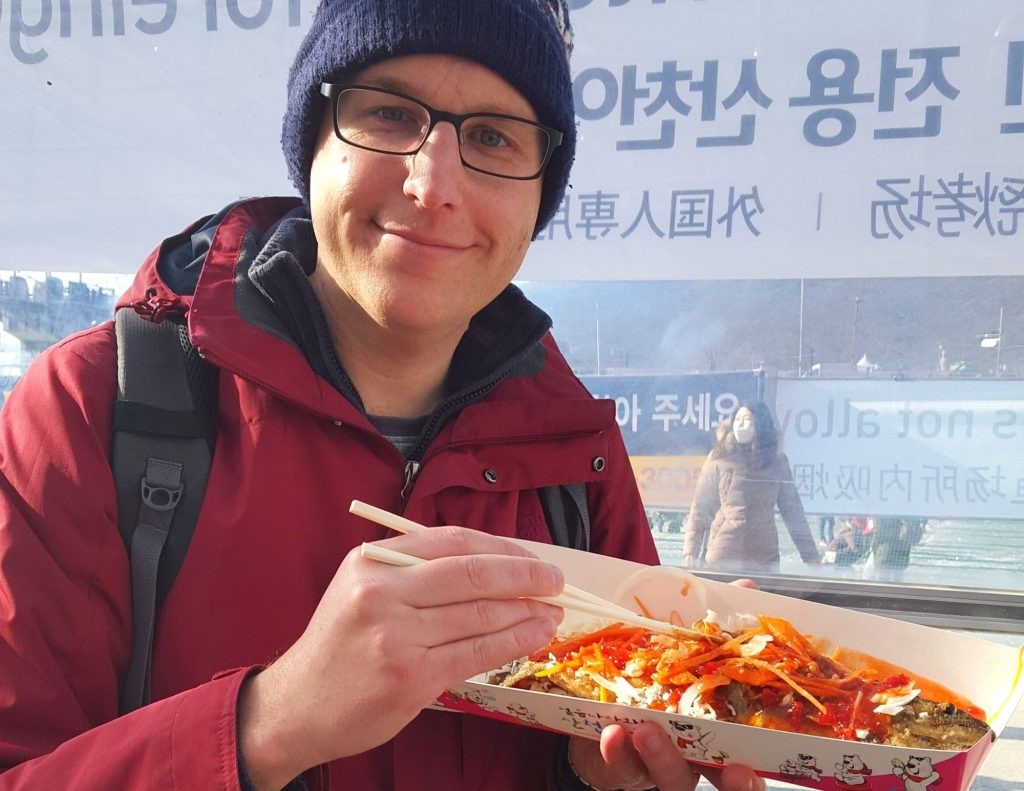 Ice Fishing, one of the best winter festivals in Korea
