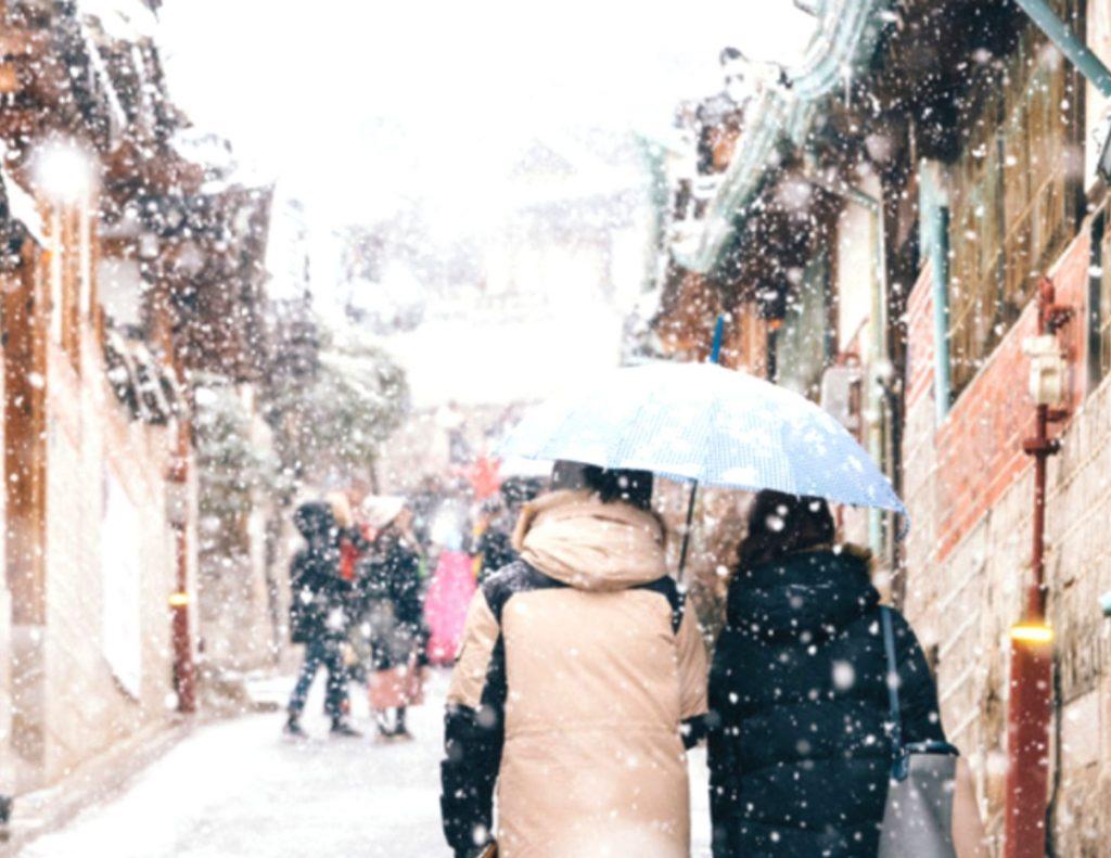 Where To See Snow in Seoul's Bukchon Hanok Village