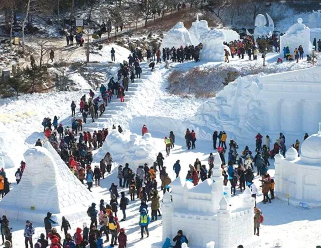 Winter Festivals in Korea, a great place where to see snow in Korea