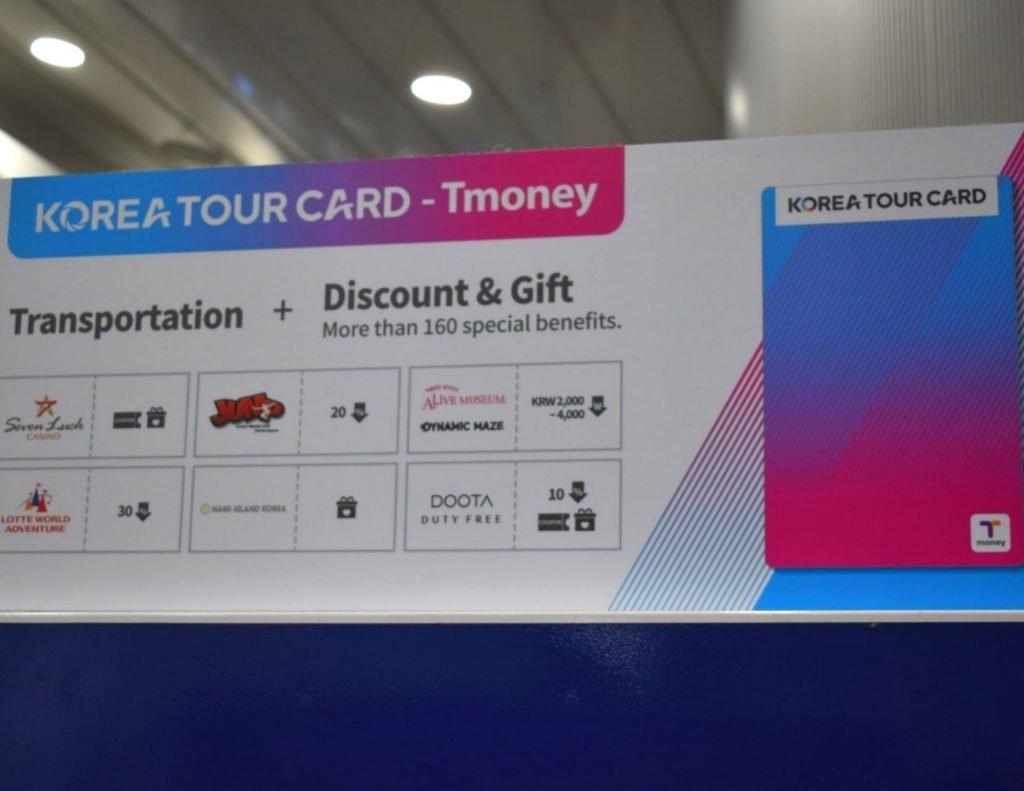 Benefits of the Korea Tour Card