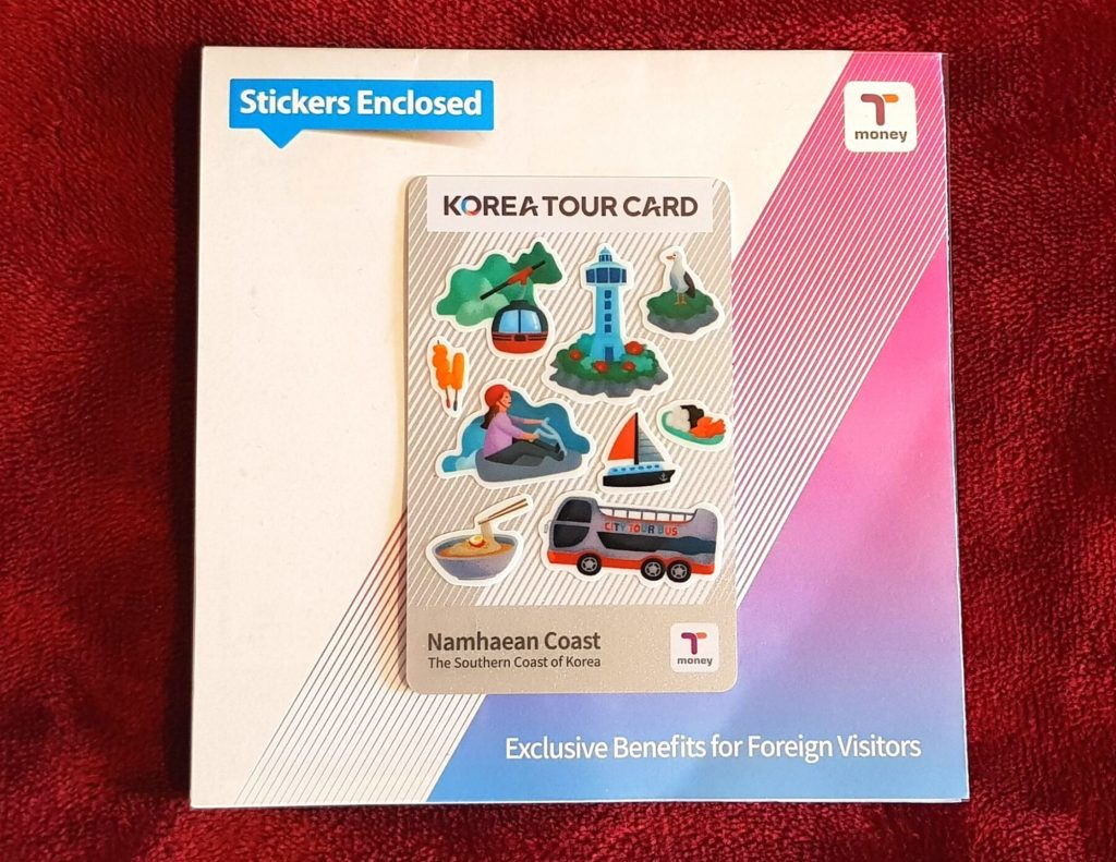 The Korea Tour Card - available for tourists visiting South Korea. Very Useful.