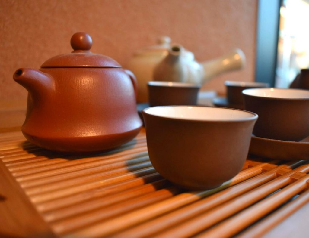 Take part in a Korean tea ceremony during a temple stay in Korea