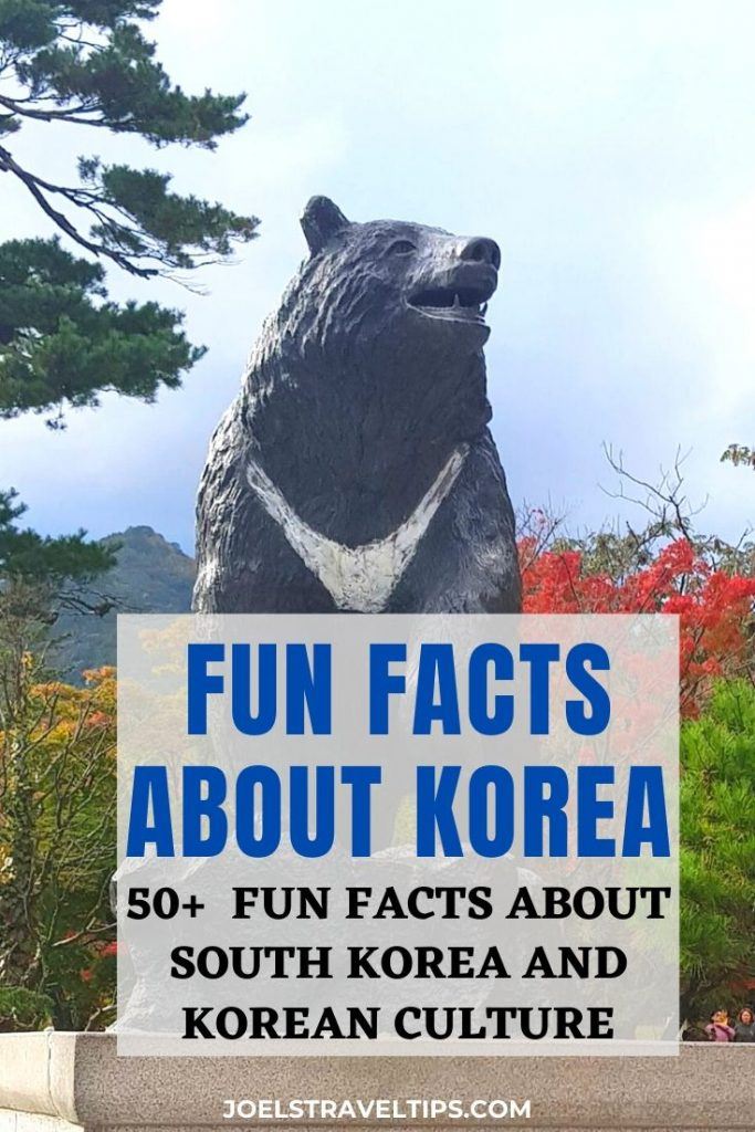 50 Fun Facts About Korea