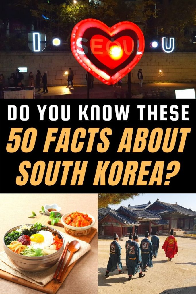 50 Interesting Facts About Korea