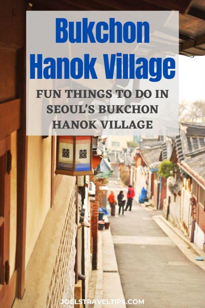 Things To Do In Bukchon Hanok Village, Seoul