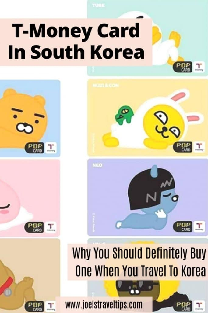 T Money Card In Korea Pinterest Pin 2