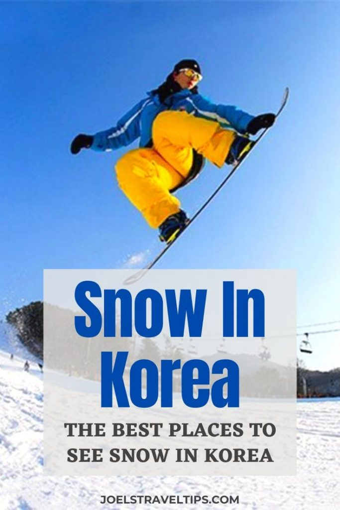 Where To See Snow In Seoul & Korea