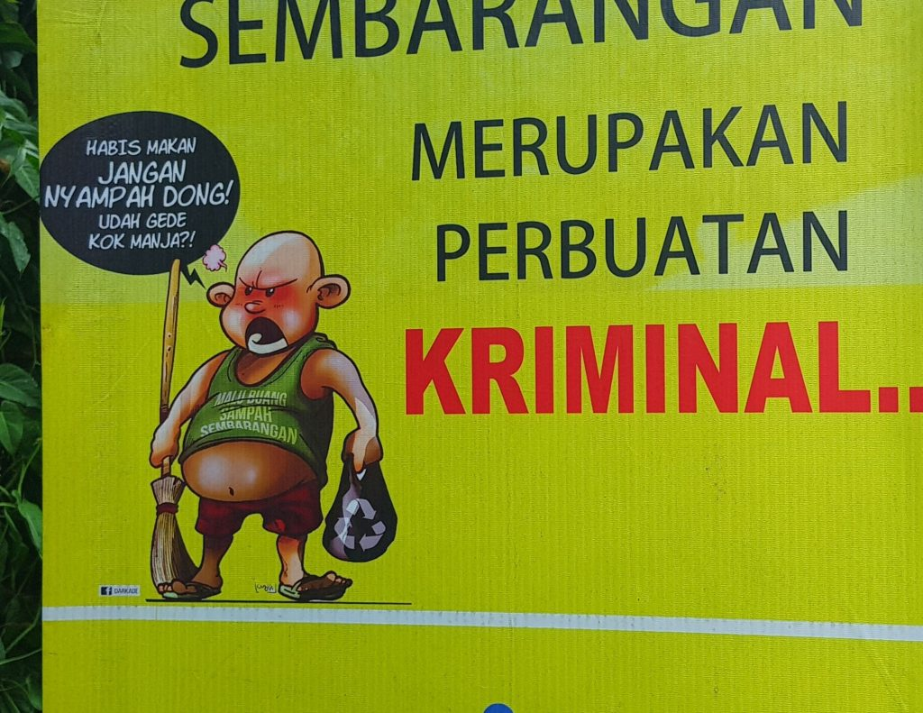 Criminal Warning From Indonesia