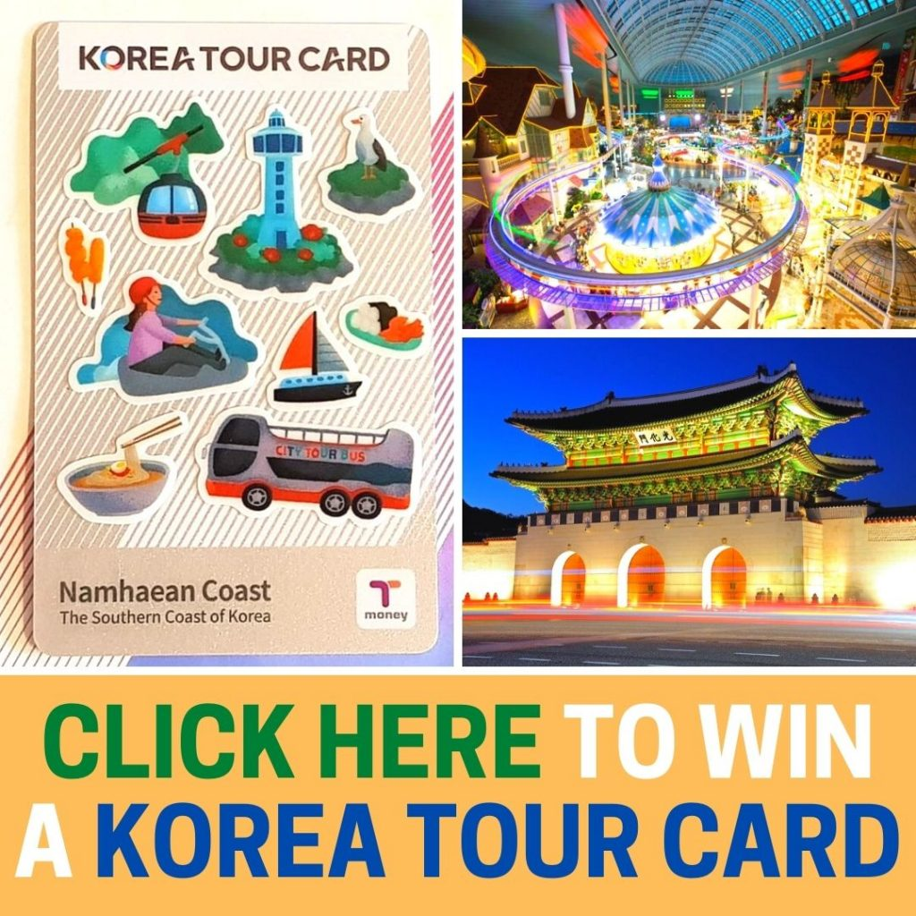 Subscription Contest For Korea Tour Card