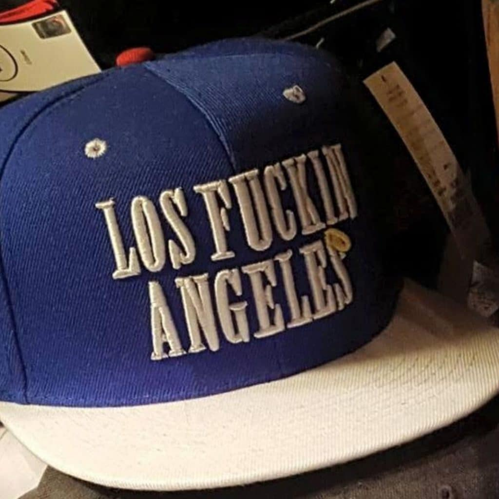 Los Fuckin Angeles Hat From Seoul