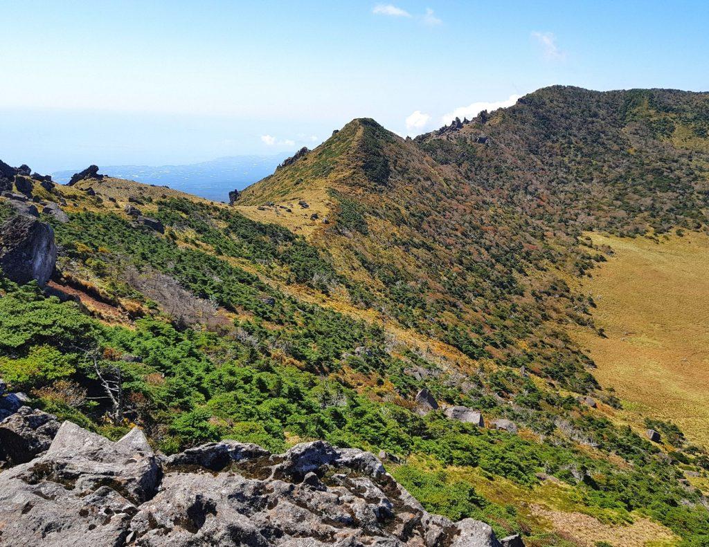 Hallasan is the tallest mountain to hike in Korea