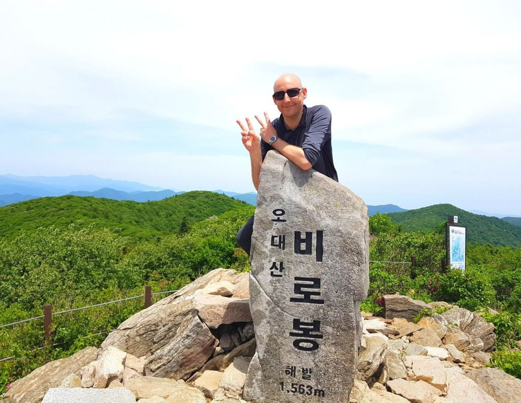 Joel at the peak of Odaesa